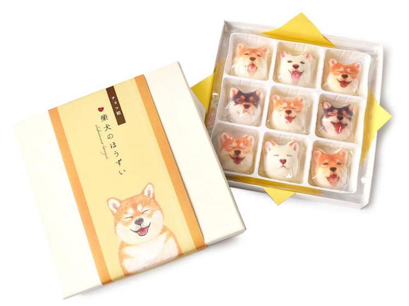 Marshmallows Shiba Felissimo, Adorables Marshmallows en Forme de Chiens Shiba