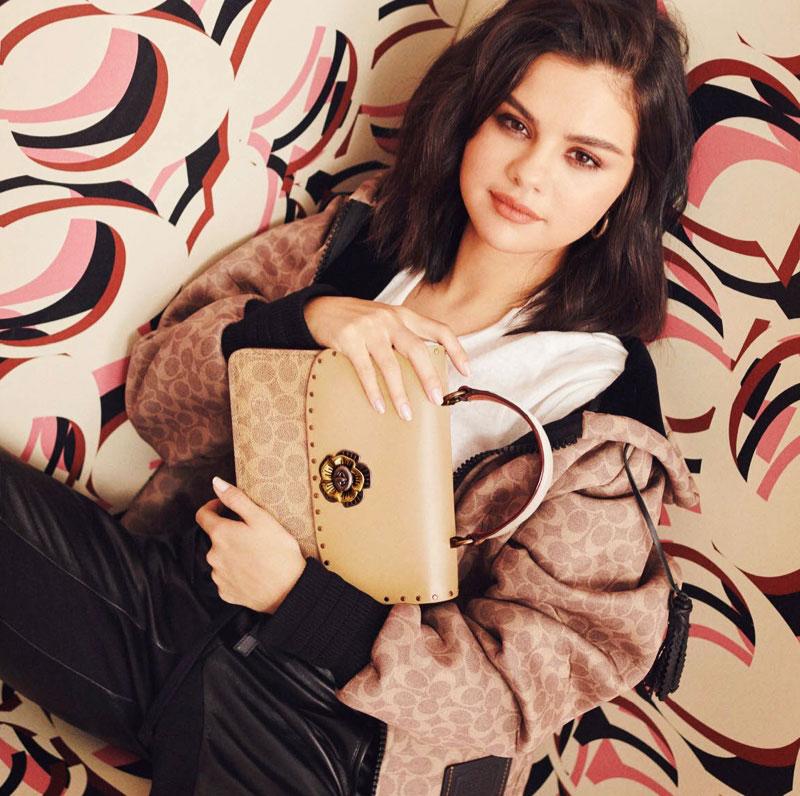 Coach Selena Gomez 2019, Selena Gomez et les Sacs Stars de Coach 2019