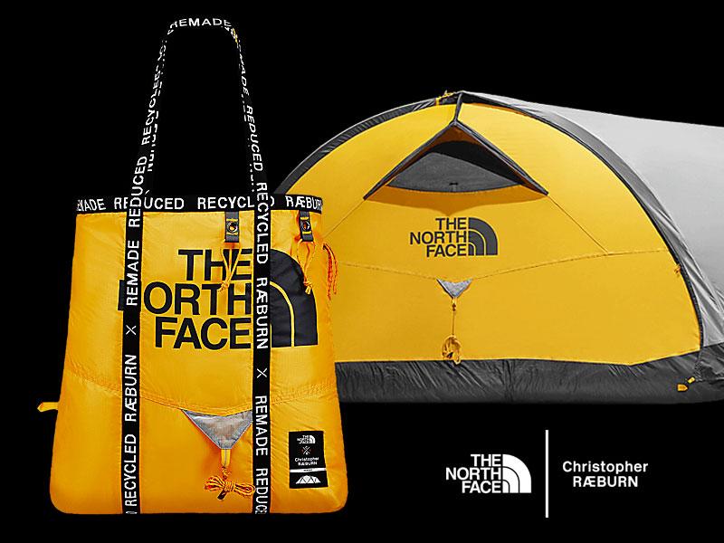 christopher raeburn thenorthface tnf sacs recycles 1 - Sacs The North Face en Toiles de Tentes Recyclées