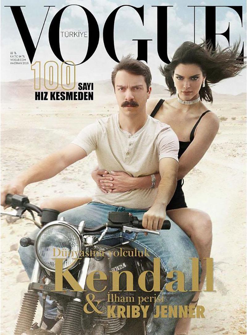 detournement montage photo kirby kendall jenner 1 - Fan de Kendall Jenner, il Continue a se Photoshopper avec Elle