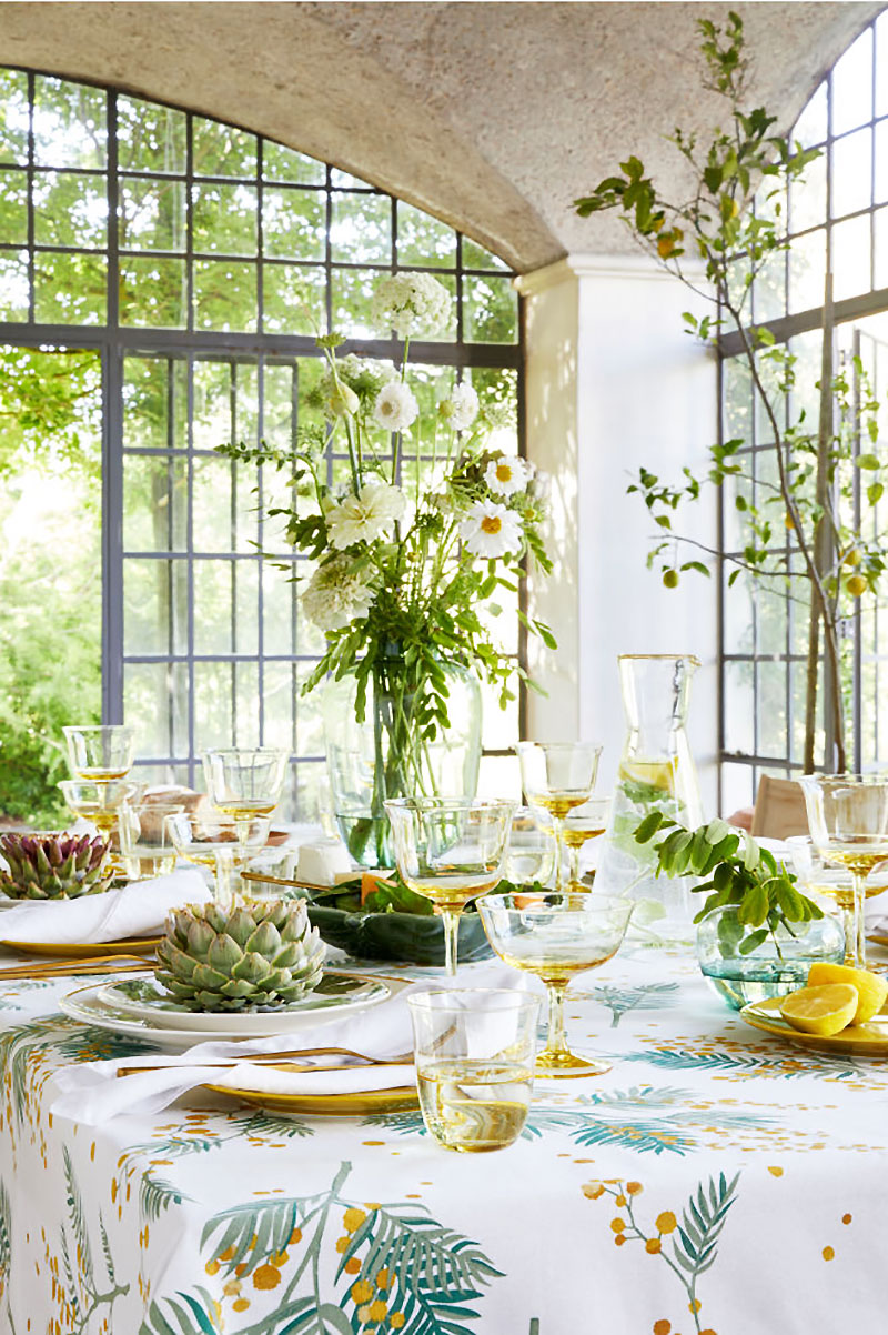 hm home printemps ete 2019 maison 1 - H&M Home Invite le Printemps dans la Maison