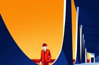 illustrations levente szabo oscar niemeyer architecture 1 331x219 - Illustrations des Oeuvres de l'Architecte Oscar Niemeyer
