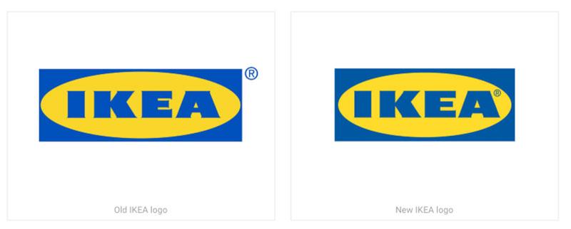 logo ikea, Ikea Change de Logo et ça ne Change Presque Rien