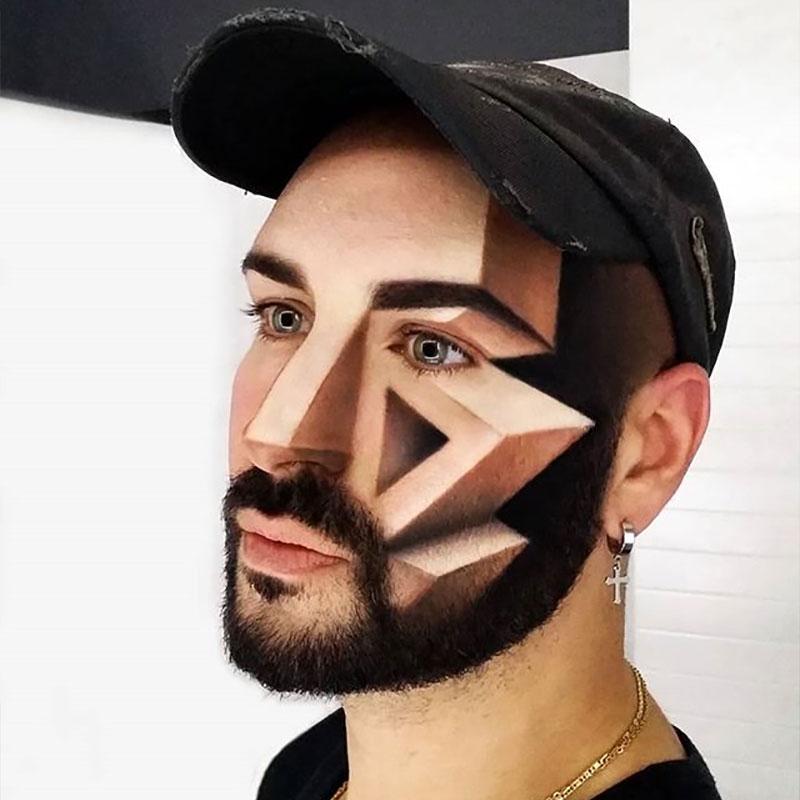 maquillage 3d, Les Maquillages 3D de cet Artiste sont Juste Hallucinants