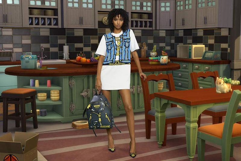 moschino jeu the sims collection capsule ete 2019 4 - Moschino Invite 'The Sims' dans sa Collection en Pixel Art