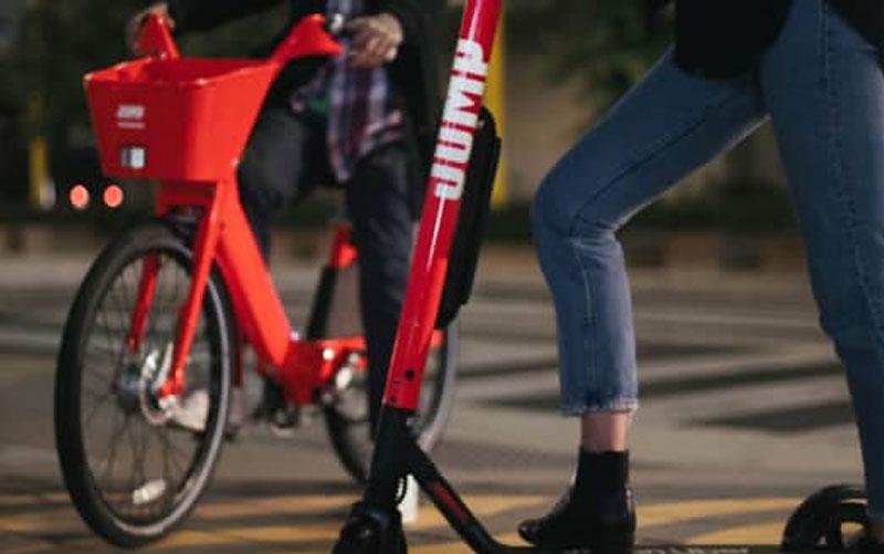 Uber Jump, Uber Jump, Vélos et Trottinettes Électriques en Libre Service