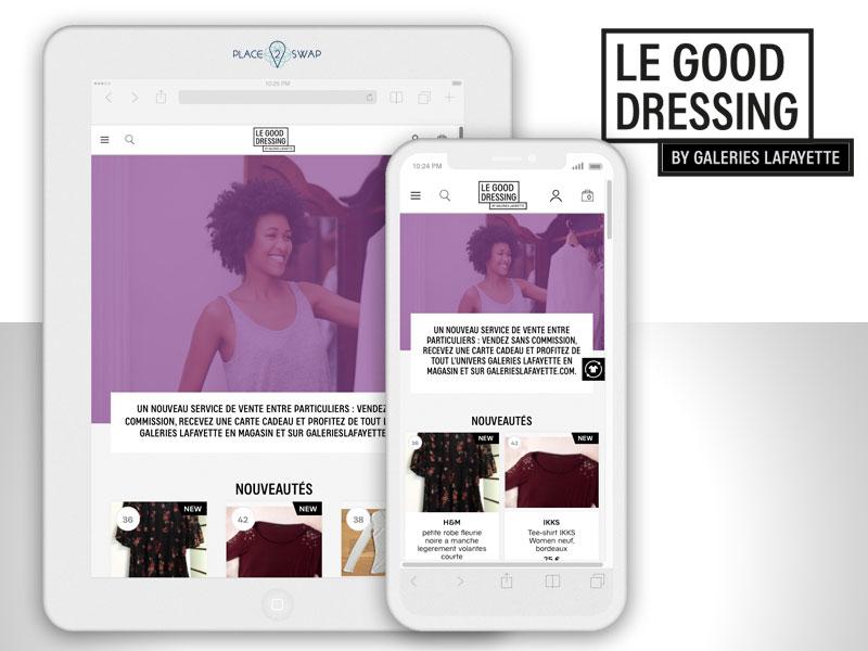 Le Good Dressing Galeries Lafayette, Vendez vos Vêtements sur Good Dressing by Galeries Lafayette