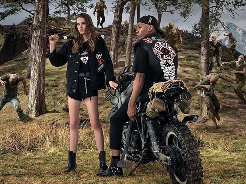 diesel x playstation collection days gone ps4 2 - Diesel x PlayStation, une Collection Capsule pour Bikers