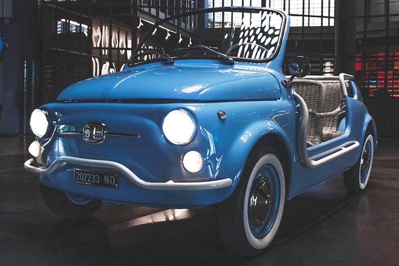 fiat 500 jolly icon e nuova garage italia 1 - L'Originale Fiat 500 Nuova fait un 'Jolly' Retour Électrique