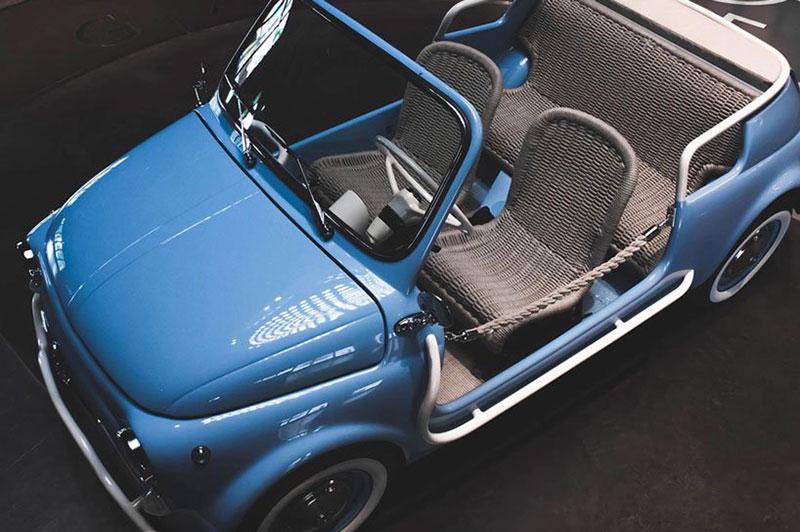 fiat 500 jolly icon e nuova garage italia 3 - L'Originale Fiat 500 Nuova fait un 'Jolly' Retour Électrique