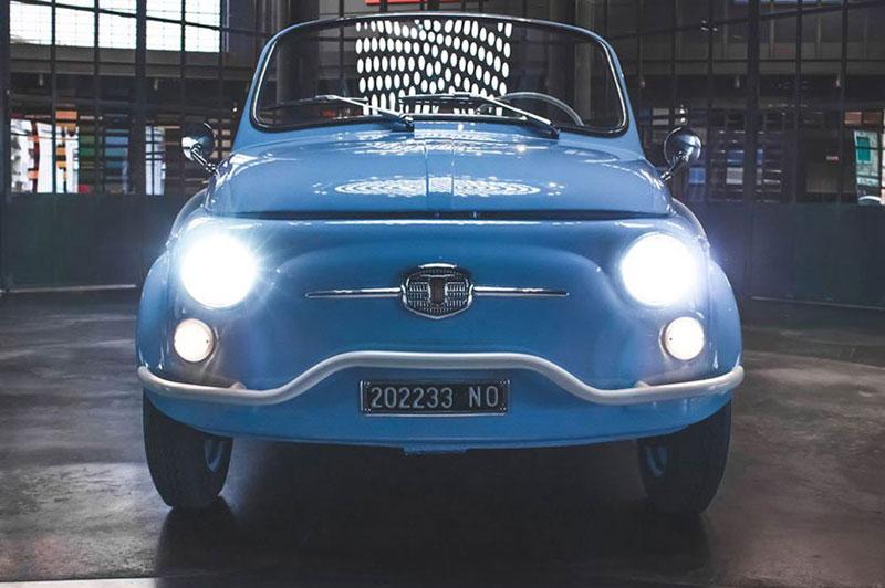 fiat 500 jolly icon e nuova garage italia 5 - L'Originale Fiat 500 Nuova fait un 'Jolly' Retour Électrique