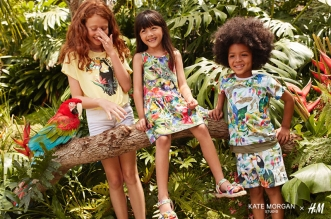 kate morgan studio hm collection enfants 1 331x219 - Kate Morgan x H&M, une Collection Enfants Pleine d'Animaux