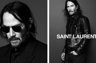 keanu reeves saint laurent campagne hiver 2019 2020 2 331x219 - Saint Laurent Homme Invite Keanu Reeves pour l'Hiver