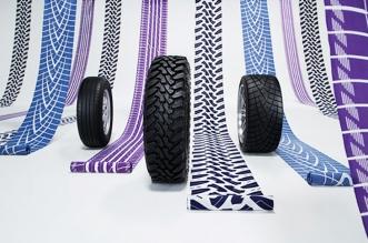 kimono yukata toyo tires motifs tissu pneus 1 331x219 - Chics les Traces de Pneus sur les Kimonos Yukata au Japon