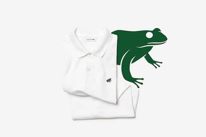 logo lacoste uicn especes animaux menaces 4 - Lacoste Remplace son Crocodile par 10 Animaux Menacés d'Extinction