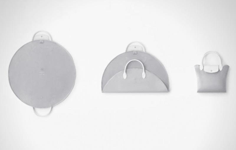 longchamp studio nendo collection sacs pliage 3 - Le Sac Pliage de Longchamp Revisité par Nendo Design
