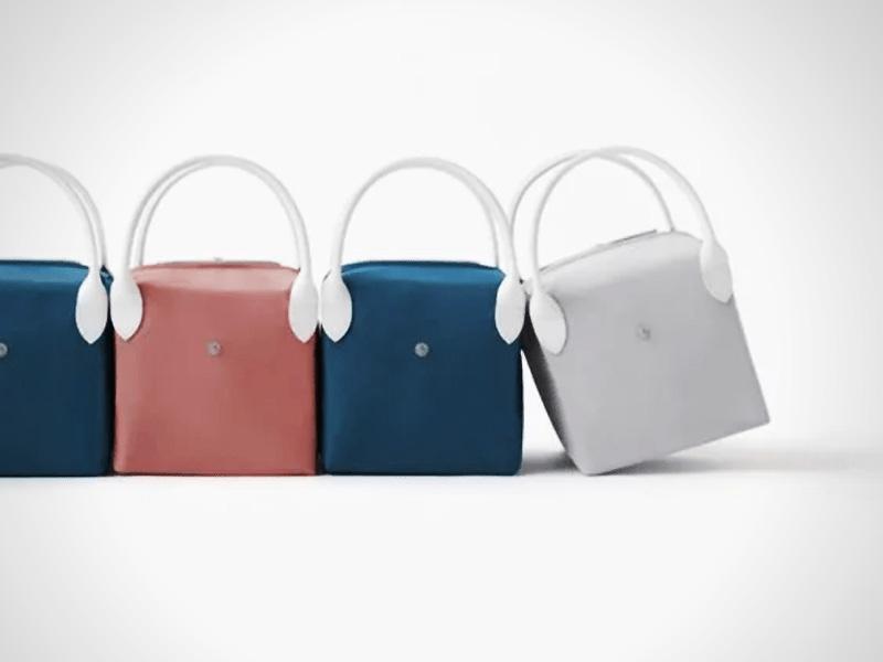 longchamp studio nendo collection sacs pliage 6 - Le Sac Pliage de Longchamp Revisité par Nendo Design