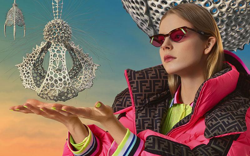 lunettes de soleil gentle fendi homme femme 4 - Gentle Fendi, Lunettes de Soleil Rétrofuturistes