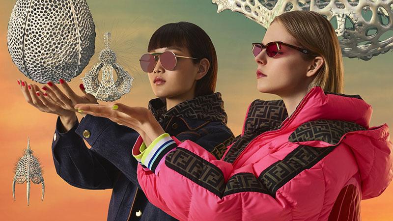 lunettes de soleil gentle fendi homme femme 5 - Gentle Fendi, Lunettes de Soleil Rétrofuturistes