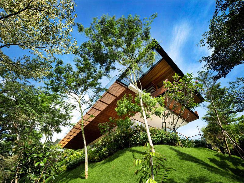 maison botanica guz architects 1 - Maison Botanica, un Jardin sur les Jardins Botaniques de Singapour