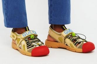sandales gucci chaussures randonne clown 1 331x219 - Gucci Dévoile ses Chaussures de Luxe ou de Clown ?!