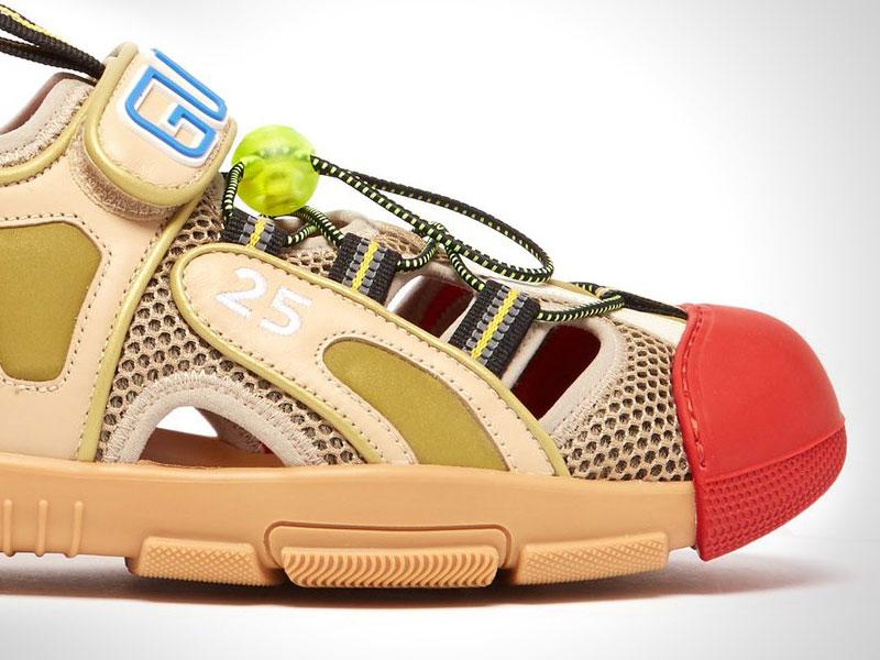 sandales gucci chaussures randonne clown 2 - Gucci Dévoile ses Chaussures de Luxe ou de Clown ?!