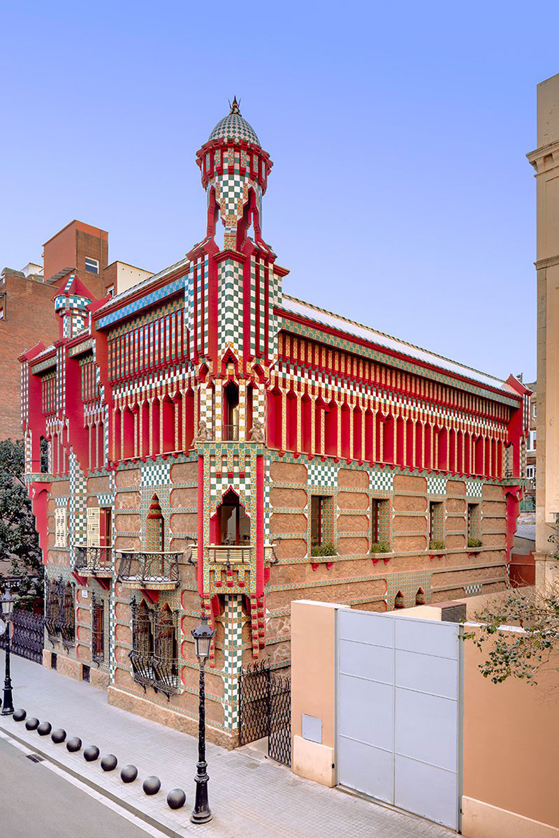 antoni gaudi casa vicens architecture 01 - Casa Vicens, une Architecture aux Multiples Influences