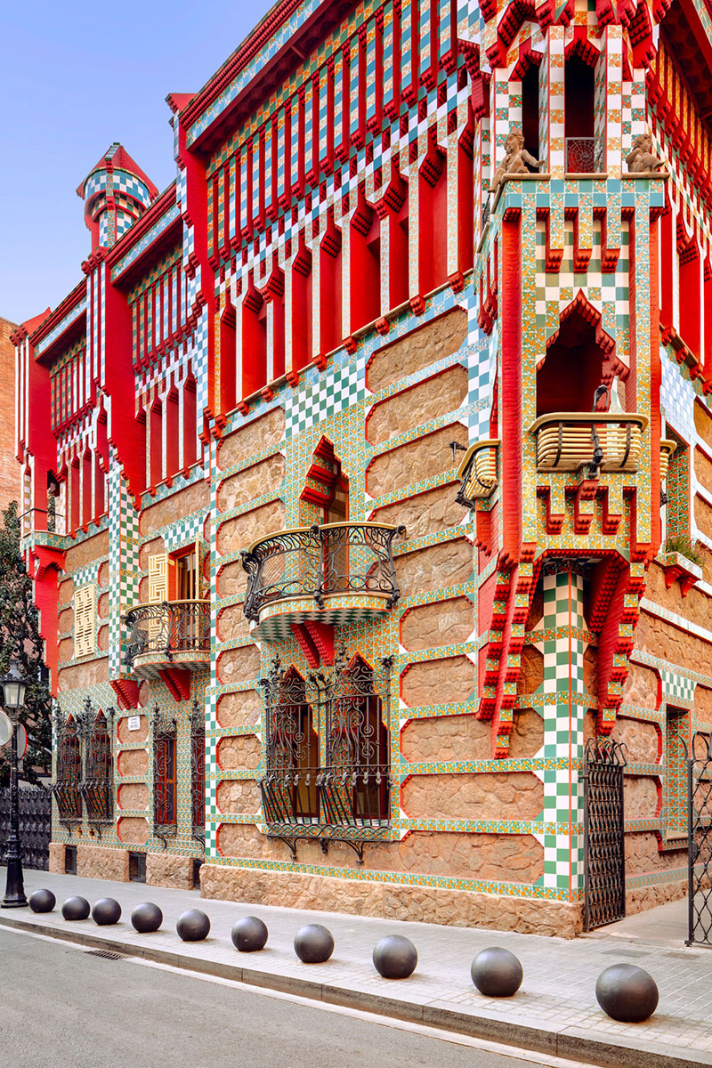 antoni gaudi casa vicens architecture 07 - Casa Vicens, une Architecture aux Multiples Influences
