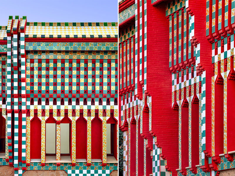 antoni gaudi casa vicens architecture 08 - Casa Vicens, une Architecture aux Multiples Influences