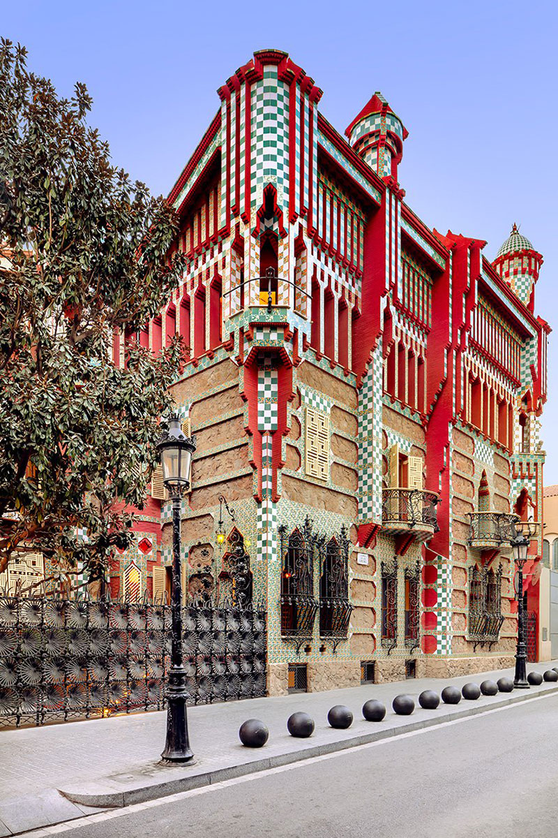 antoni gaudi casa vicens architecture 09 - Casa Vicens, une Architecture aux Multiples Influences