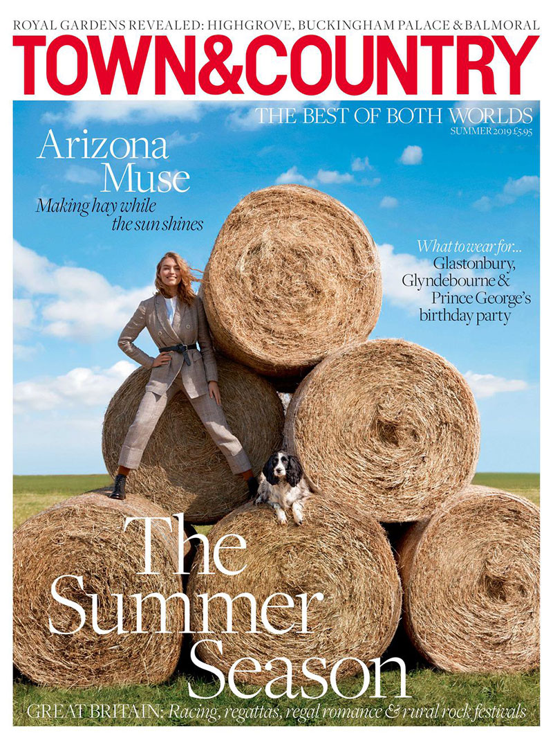 arizona muse town country magazine ete 2019 1 - Un Eté à la Ferme avec Arizona Muse pour Town & Country Magazine