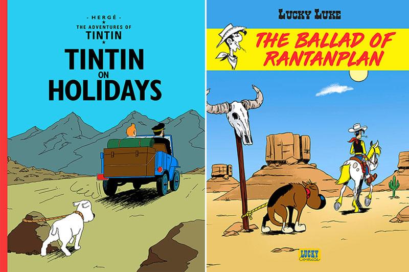 bandes dessinees animaux abandonnes nicolas amiard 1 - Détournement de BD contre l'Abandon des Animaux en Vacances