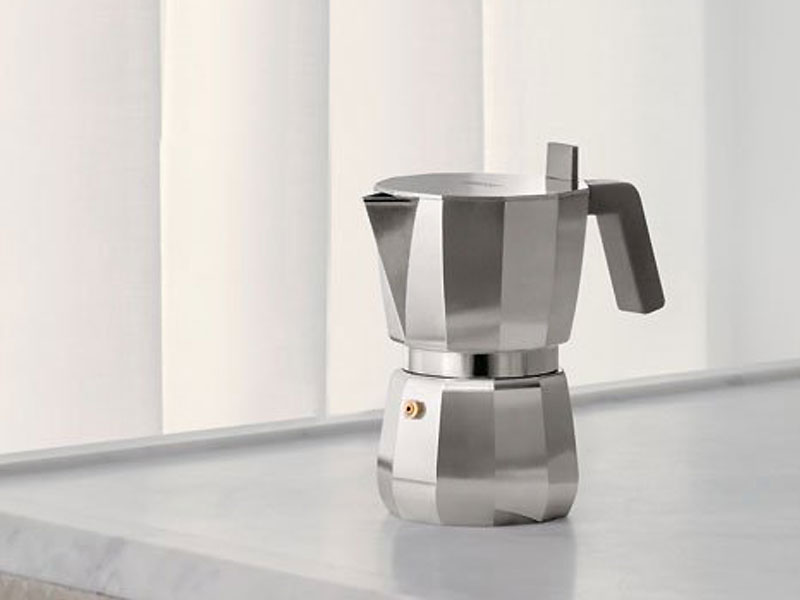 David Chipperfield, La Cafetière italienne Moka Revisitée par David Chipperfield