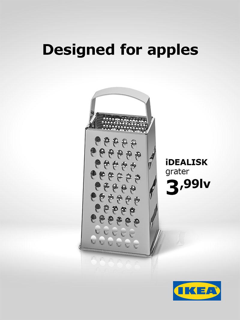 ikea mac pro, Ikea Parodie le Mac Pro 2019 pour sa Râpe à Fromage