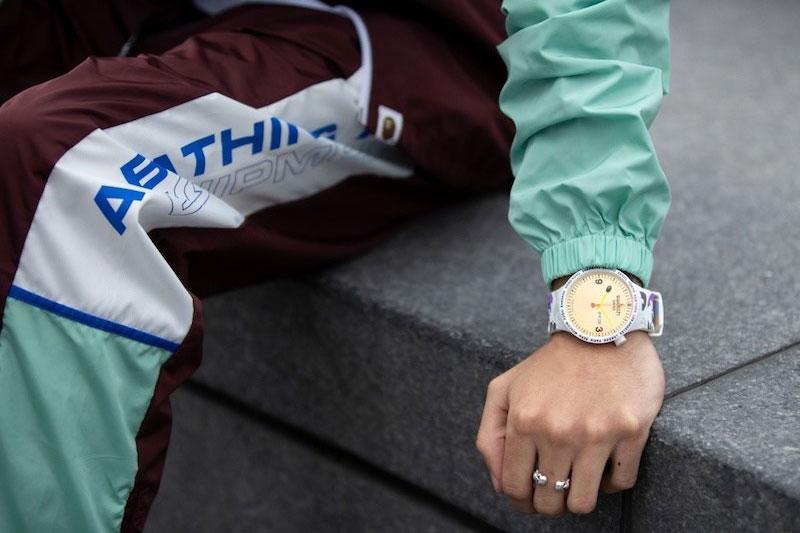 Swatch BAPE, Montre Swatch X BAPE en 6 Editions Limitées pour Voyageurs