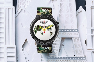 collection montre swatch city bathing ape bape 6 331x219 - Montre Swatch X BAPE en 6 Editions Limitées pour Voyageurs