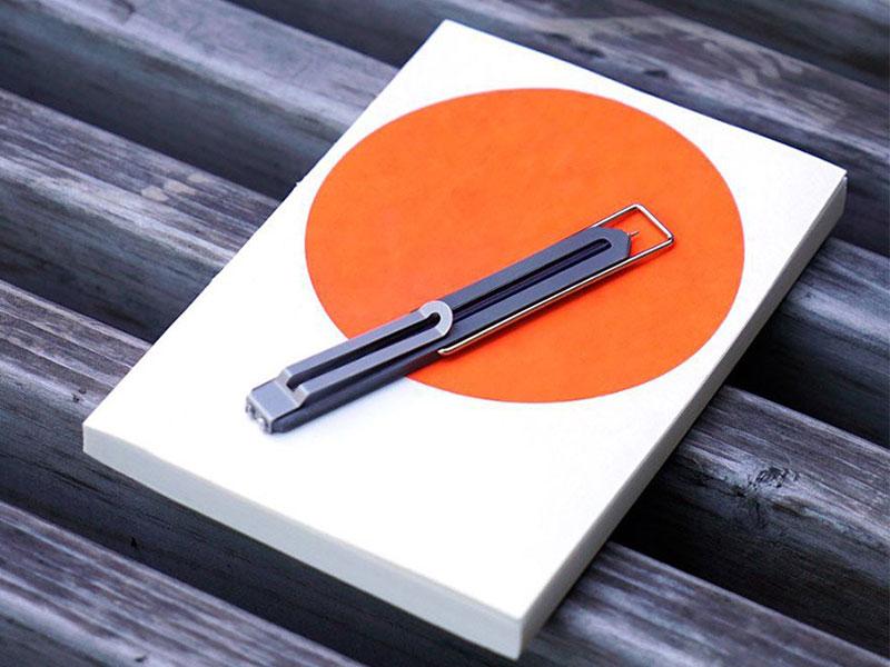 Pen Type-C, Pen Type-C, le Stylo Marque-Page le plus Plat au Monde