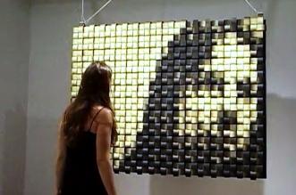 daniel rozin miroir mecanique cinetique art 1 331x219 - Artistique Miroir Cinétique à Réflexion Dynamique