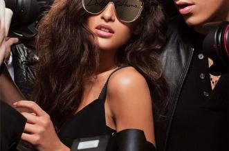 dolce gabbana dglogo lunettes de soleil 2019 campagne 3 331x219 - Logo Dolce & Gabbana sur les Verres des Lunettes de Soleil