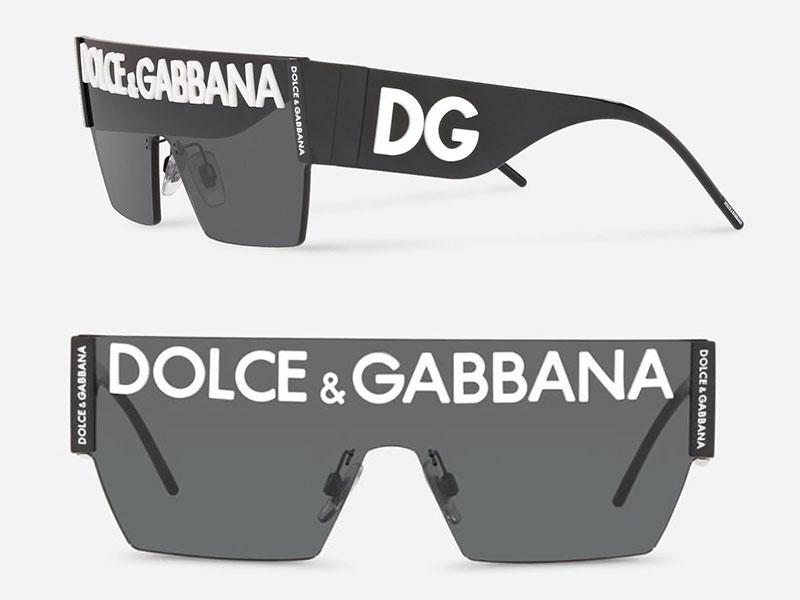 dolce gabbana dglogo lunettes de soleil 2019 campagne 8 - Logo Dolce & Gabbana sur les Verres des Lunettes de Soleil