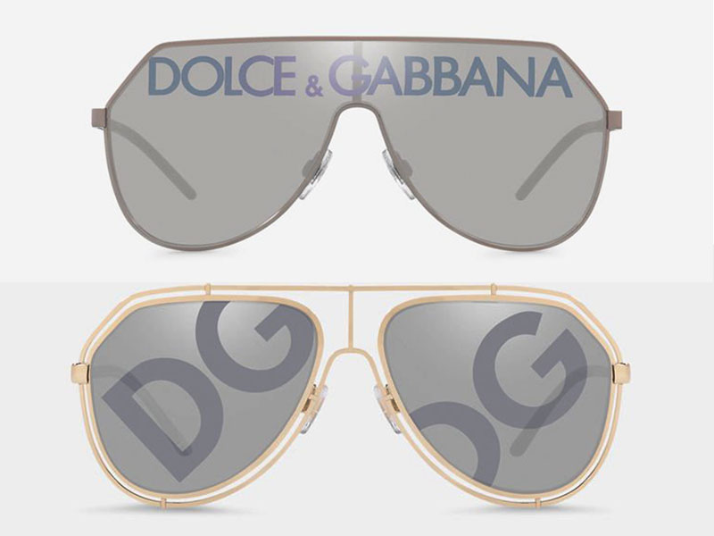 dolce gabbana dglogo lunettes de soleil 2019 campagne 9 - Logo Dolce & Gabbana sur les Verres des Lunettes de Soleil