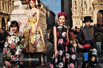 dolce gabbana femme hiver 2019 2020 01 1 331x219 - La  Femme Dolce & Gabbana en Visite à Milan cet Hiver