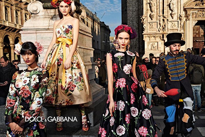 dolce gabbana femme hiver 2019 2020 01 1 - La  Femme Dolce & Gabbana en Visite à Milan cet Hiver