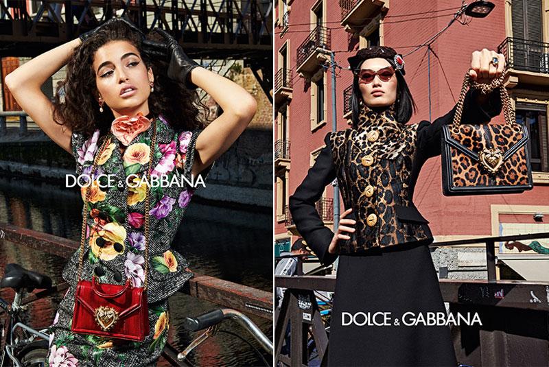dolce gabbana femme hiver 2019 2020 06 1 - La  Femme Dolce & Gabbana en Visite à Milan cet Hiver