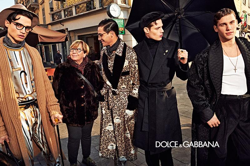 dolce gabbana homme campagne hiver 2019 2020 03 - l'Homme Dolce Gabbana Joue les Dandys à Milan