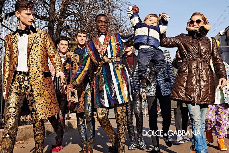 dolce gabbana homme campagne hiver 2019 2020 05 - l'Homme Dolce Gabbana Joue les Dandys à Milan