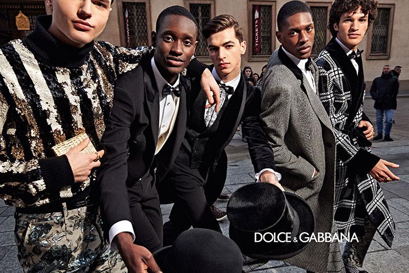 dolce gabbana homme campagne hiver 2019 2020 06 - l'Homme Dolce Gabbana Joue les Dandys à Milan
