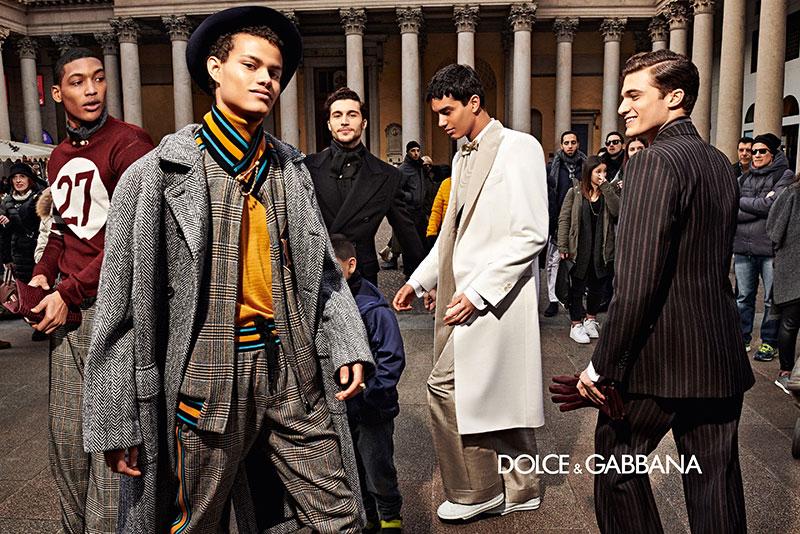 dolce gabbana homme campagne hiver 2019 2020 07 - l'Homme Dolce Gabbana Joue les Dandys à Milan