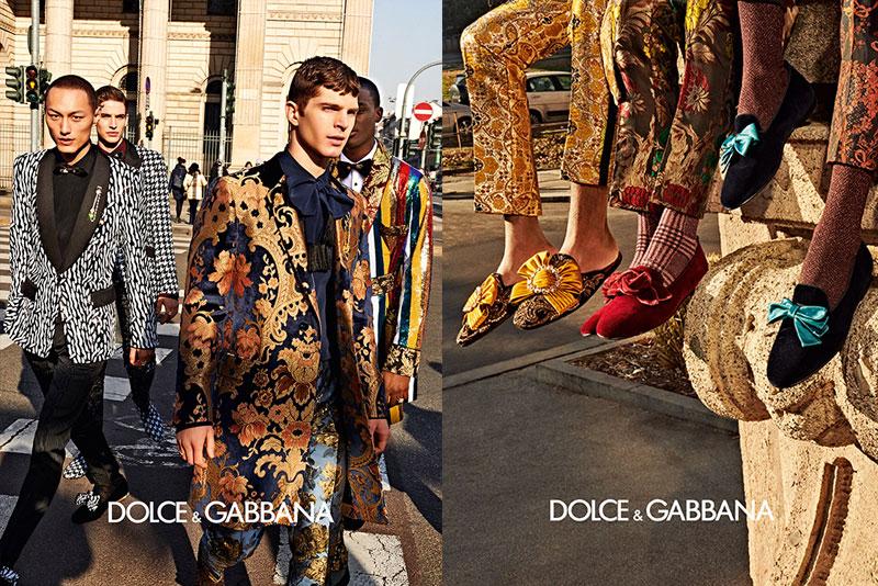 dolce gabbana homme campagne hiver 2019 2020 09 - l'Homme Dolce Gabbana Joue les Dandys à Milan