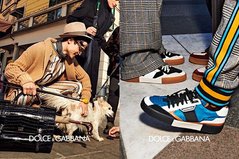 dolce gabbana homme campagne hiver 2019 2020 11 - l'Homme Dolce Gabbana Joue les Dandys à Milan